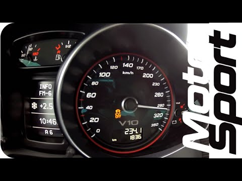 Launch Control : Audi R8 V10 Plus 0-300 km/h (Motorsport)