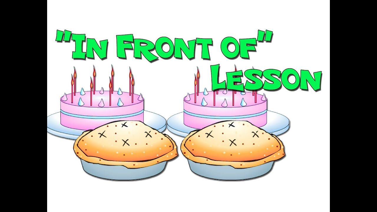 u0026quot;In Front ofu0026quot; - Prepositions Lesson for Early Childhood Teachers - YouTube