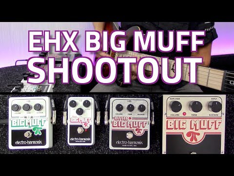 All Electro-Harmonix Big Muff Pedals Compared - Fuzz Shootout