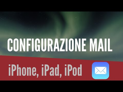 Configurare mail (Hotmail. Libero e Tiscali) su iPhone.iPod touch & iPad