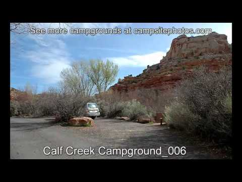 Calf Creek Campground, Grand Staircase/Escalante National Monument, Utah Campsite Photos