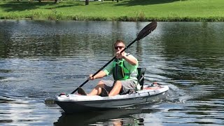 NEW: Pelican Catch 100 Angler Kayak at iCAST 2017