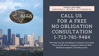 Auto Accident Lawyers - Houston, Tx 77477 | Maida Law Firm - Free Consulation 1-713-785-9484