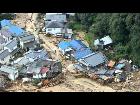 Japan Landslides Kill 27 In Hiroshima- Breaking News