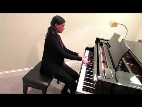 Kabhi Jo Baadal Barse - Piano Cover - Raashi Kulkarni video