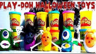 Play-Doh Video for Kids - Surprise Halloween Toys - Play Douh Season Creation