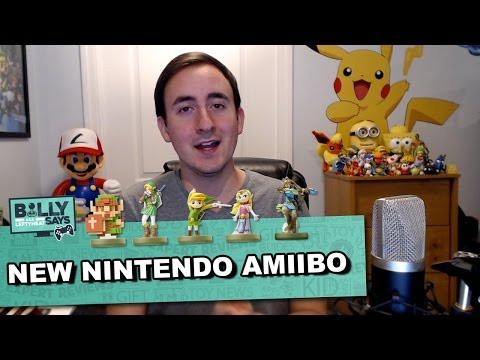 The Future Of Amiibo - The Toy Insider Billy Says Video Game Ideas for the Holidays