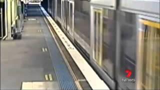Boy cheats train track death - Sydney Australia 2011 'UNREAL