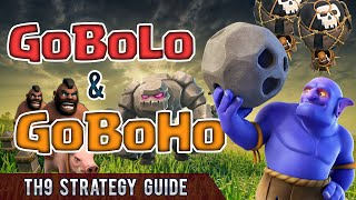 Clash of Clans: GoBoLo & GoBoHo - SUPER STRONG TH9 Strategies