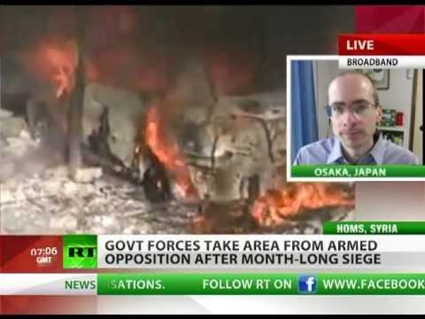 Revolt Injection: 'Cash, arms & jihadists fuel Syria war'