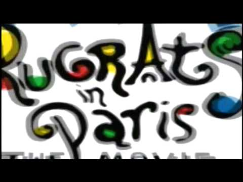 Opening To Rugrats In Paris: The Movie 2001 Dvd video