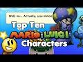 Top Ten Mario & Luigi Characters