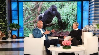 Dwayne Johnson Discusses His Gorilla Research for 'Rampage'