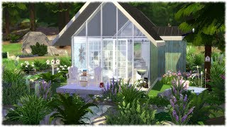 The Sims 4: Speed Build // A FRAME IN THE WOODS + CC LINKS