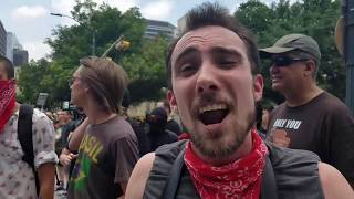 Antifa Losers and Rabid Liberals Lose Their Minds When They Hear Facts -- #MarchAgainstSharia