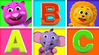 ABC Songs and ABC Phonics Song For Children | 3D Nursery Rhymes | All Babies Channel