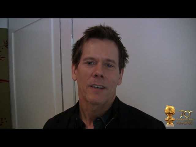 Kevin Bacon and the thrills of being scared by The Following