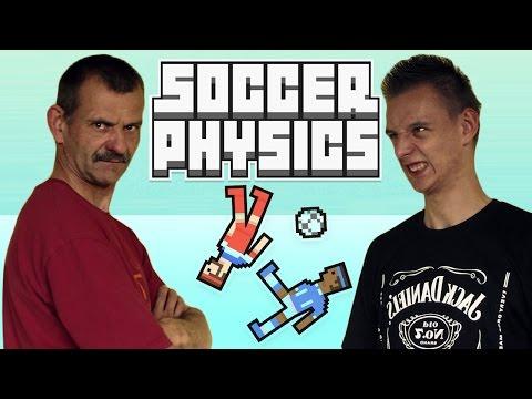 Grywalizacja #2 - Adam Vs Tata - Soccer Physics (Piłka Nożna)