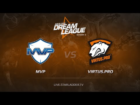 MVP vs VP, DreamLeague Season 2 Day 1, Game 2, Match 1