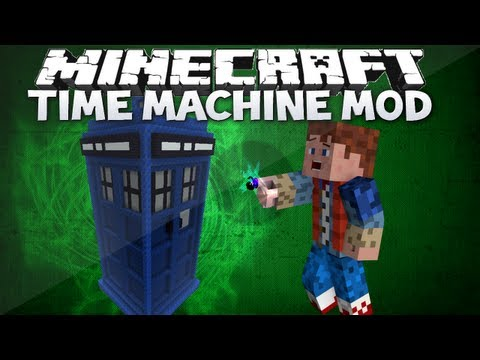 Minecraft: Time Machine mod - ICE AGE. JURRASIC ERA & MORE! (Time Traveller mod review)