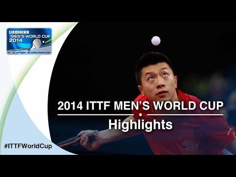 2014 Men's World Cup Highlights: MA Long vs MATSUDAIRA Kenta (1/16)