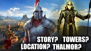 ELDER SCROLLS 6 - Potential Location, Story, Thalmor, Towers, Trailer Analysis and Speculation