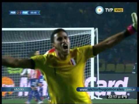 Peru 2 Paraguay 0 (Relato Sebastian Pordomingo)  Copa America 2015