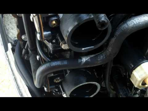Outboard Motor Carburetor Cleaning