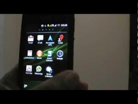 SONY XPERIA E -  Colocando música MP3 como toque de chamada.