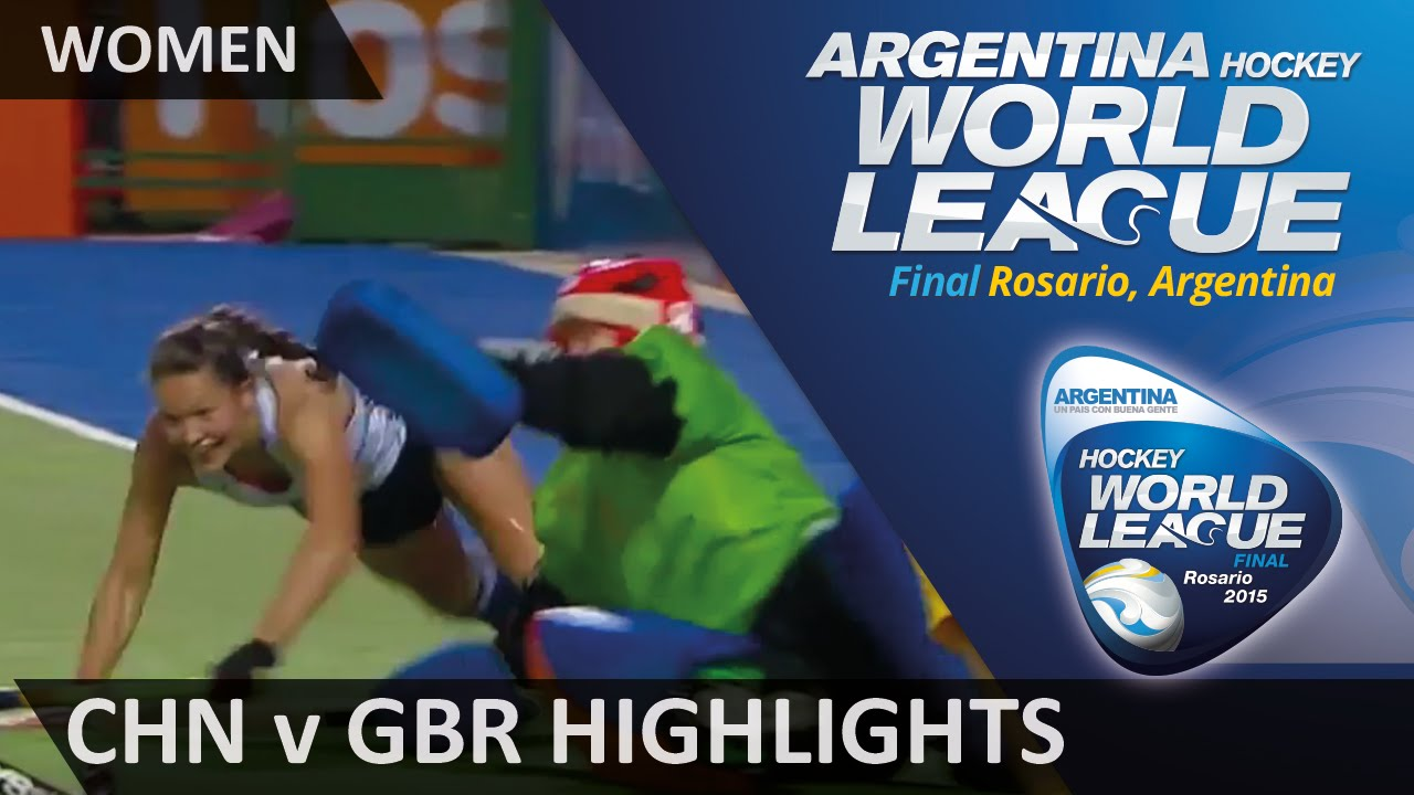 China v Great Britain Match Highlights #HWL2015 #Rosario