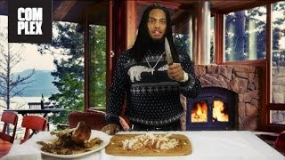 Waka Flocka Flame Teaches Complex How to Carve a Turkey