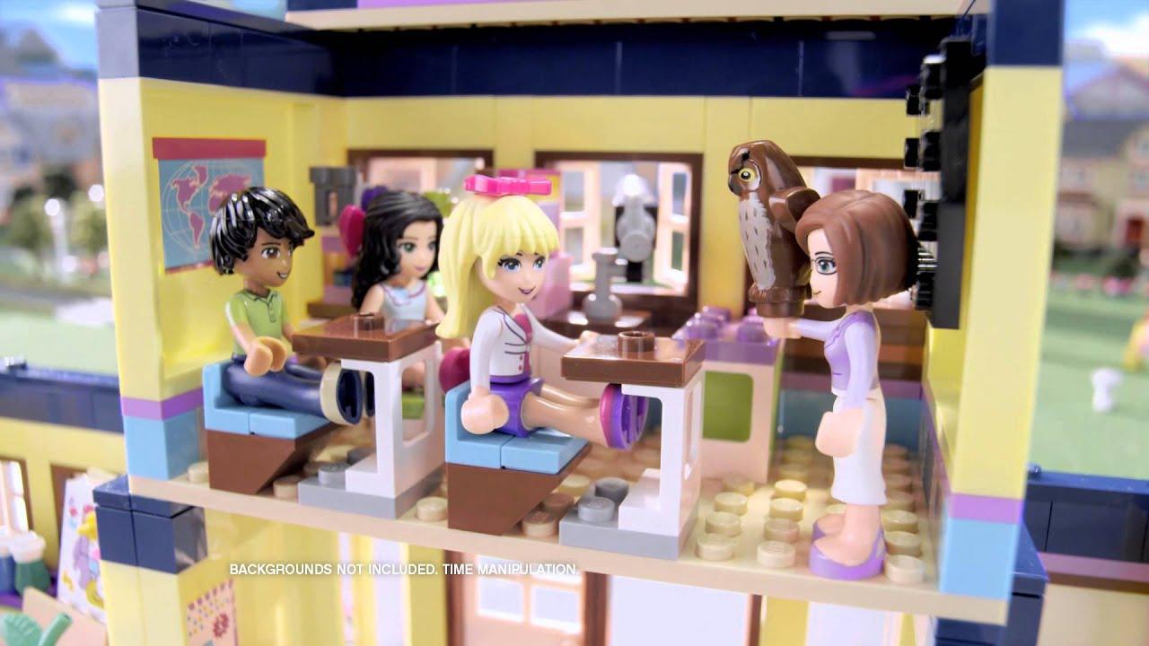 Lego friends school youtube - Ecole lego friends ...