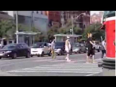 Making-off campagne street marketing MINI Cooper #MININOTNORMAL