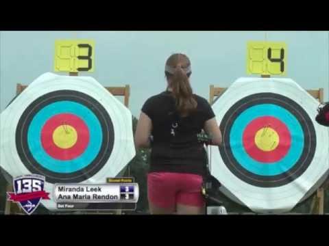 2014 U.S. Open: Miranda Leek Meets Ana Maria Rendon!