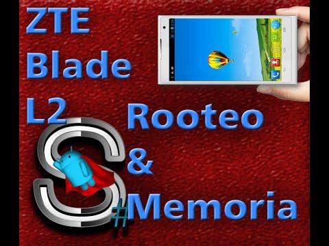 Root y Aumento/Cambio de Memorias Jellybean   ZTE Blade L2/BGH Joy AXS/Meo Smart