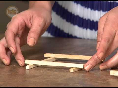 el taller de rosella portavelas de madera youtube
