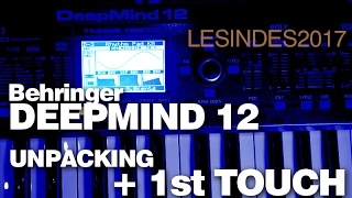 BEHRINGER DEEPMIND 12 // Unpacking + First Touch