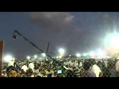 Miracle Of Allah In The Gathering Of Dr Tahir Ul Qadri's Speech In Kutch India 2012 video