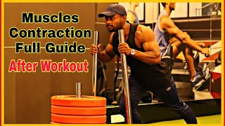 Muscles Contractions Full Guid Video || After Workout || Bodybuilding Posing Practice.