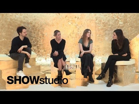 SHOWstudio: New York Womenswear - Roundup Spring / Summer 2015 Panel Discussion