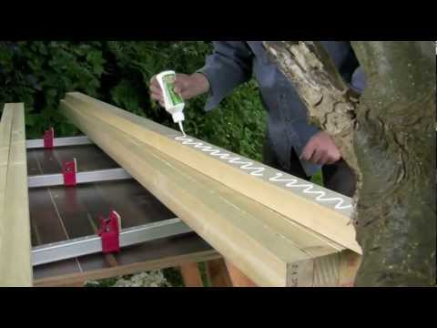 How to build a workbench - (Part 1) Laminating the top - with Paul Sellers