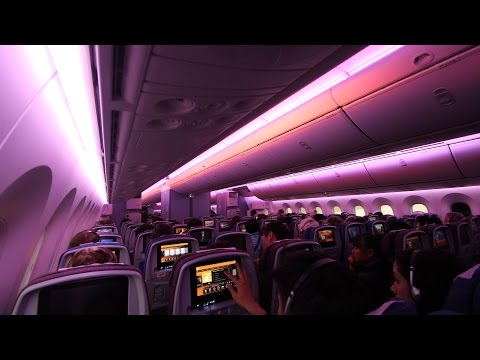 This video is about the Boeing 787 Dreamliner, operated by LAN, for the Santiago (SCL) to Sydney (SYD) flight via Auckland (AKL). Flight time all up is around 19-24 hours (including layover).