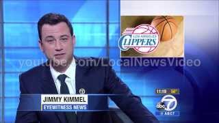 Jimmy Kimmel joins the ABC7 Eyewitness Newsteam as a sports anchor