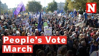People's Vote March: Thousands Turn Out For London Anti-Brexit Protest