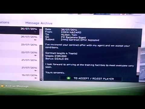 FIFA 14 - Buying Eden Hazard For £4.5 Million!