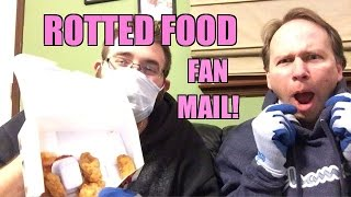 DISTURBING FAN MAIL from HEEL FAN! Destroyed WWE Figures, Rotted Food, Smelly GARBAGE!