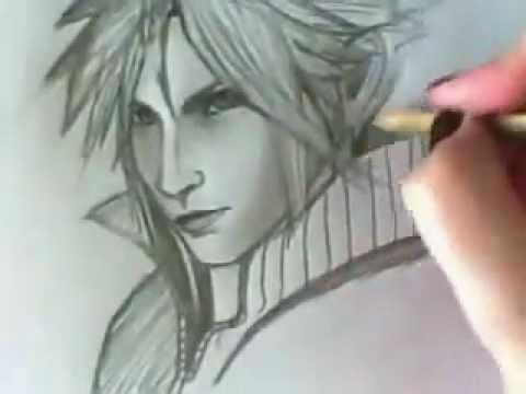 Fantasy Clouds Drawing Draw Cloud Final Fantasy