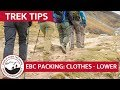 Everest Base Camp Gear List & Packing Part 6: Clothing - Lower Layers | Trek Tips thumbnail
