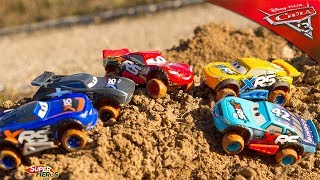 Disney Cars XRS Xtreme Racing Series Mud Racing Voitures avec vraies suspensions McQueen Jouets Toys