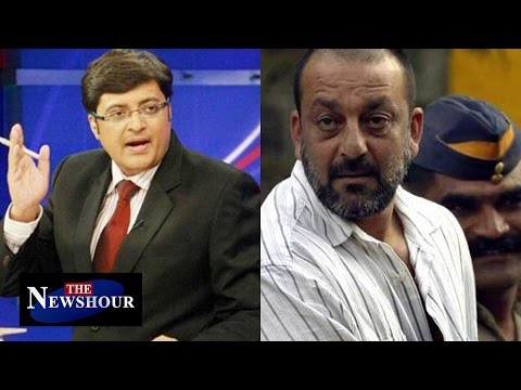 Sanjay Dutt To Be Release 7 Months Earlier : The Newshour Debate (6th Jan 2016)